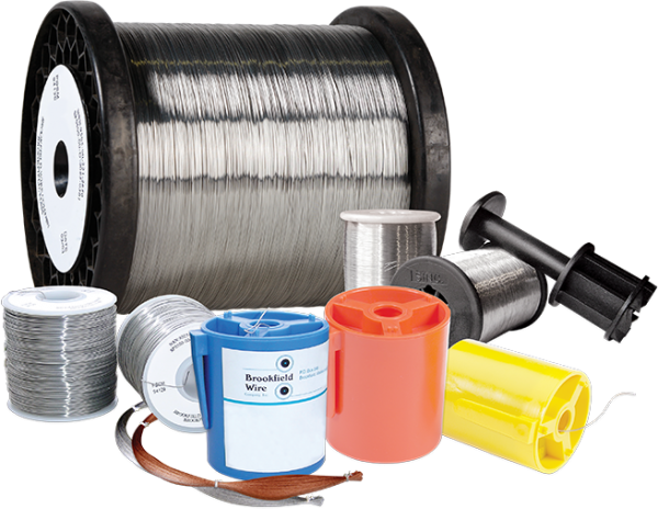Spools of wire   Brookfield wire manufacturer