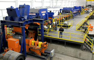 butech bliss cut-to-length lines and slitting lines