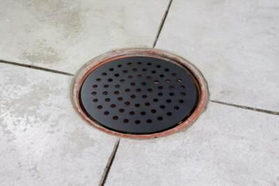 new garage drain cover