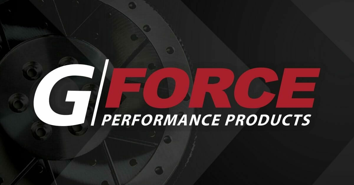 G Force Performance Products Logo | Transmission Crossmember Replacement
