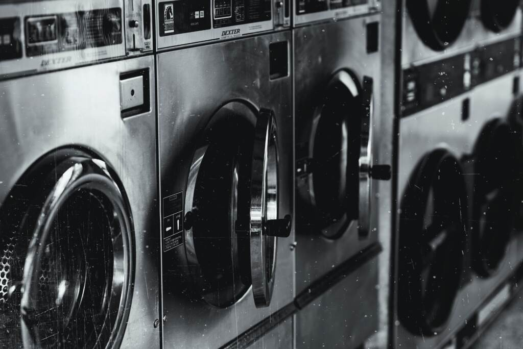 laundry equipment for sale row of washers