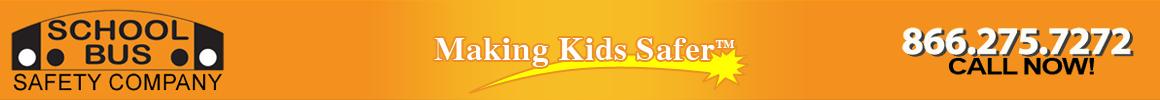 School bus safety logo
